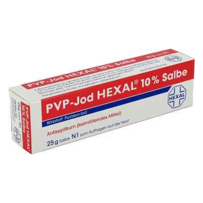 Pvp Jod Hexal 10% Wundsalbe