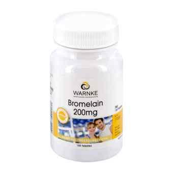 Bromelain 200 mg magensaftresistente Tabletten  bei apo-discounter.de bestellen