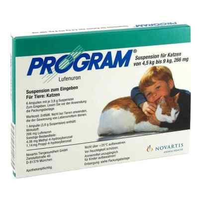 Program Suspens.f.katzen v.4,5-9 kg/266 mg Ampullen   bei apo-discounter.de bestellen
