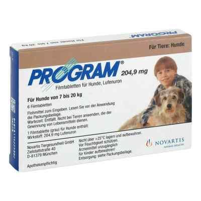 Program Tabletten für hunde 204,9mg 7-20kg  bei apo-discounter.de bestellen