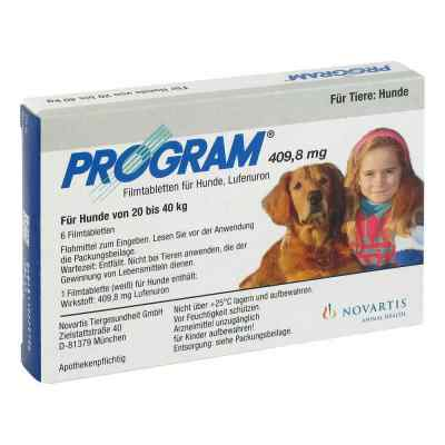 Program Tabletten für hunde 409,8mg 20-40kg bei apo-discounter.de bestellen