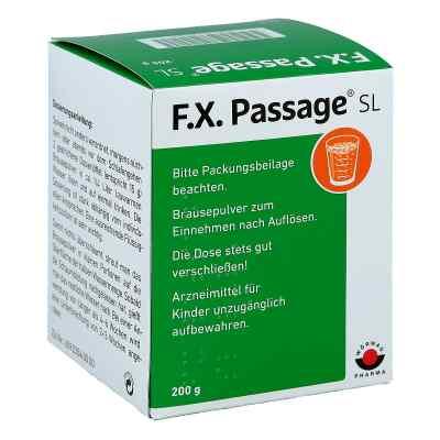 F.X. Passage SL Brausepulver  bei apo-discounter.de bestellen