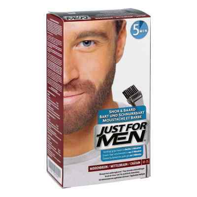 Just for men Brush in Color Gel mittelbraun  bei apo-discounter.de bestellen