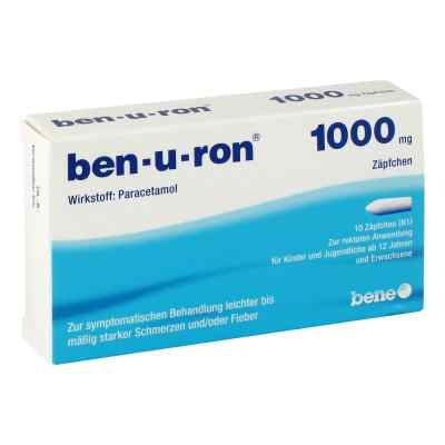 Ben-u-ron 1000 mg Erwachsenensuppositorien