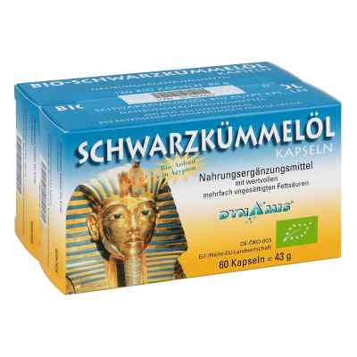 Schwarzkümmel Bio ägypt. Kapseln  bei apo-discounter.de bestellen