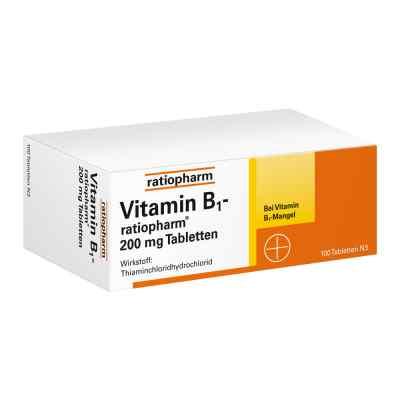 Vitamin B1 ratiopharm 200 mg Tabletten  bei apo-discounter.de bestellen
