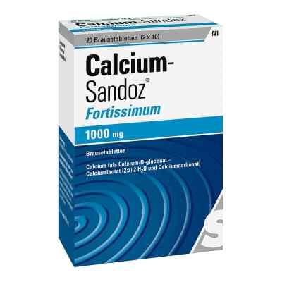 Calcium-Sandoz fortissimum 1000mg  bei apo-discounter.de bestellen
