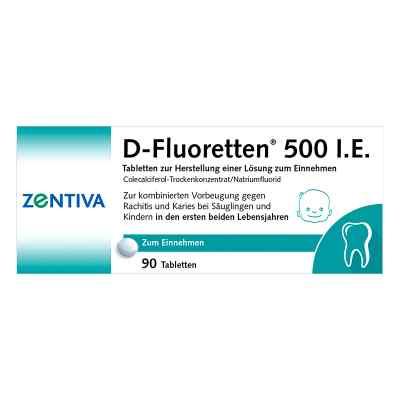 D-Fluoretten 500 I.E.  bei apo-discounter.de bestellen