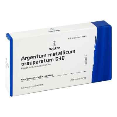 Argentum Metallicum Praep. D30 Ampullen  bei apo-discounter.de bestellen