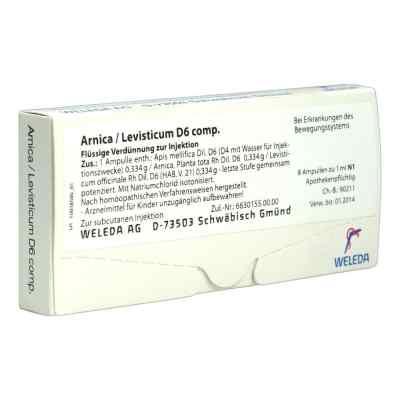 Arnica/levisticum D6 Comp. Ampullen  bei apo-discounter.de bestellen