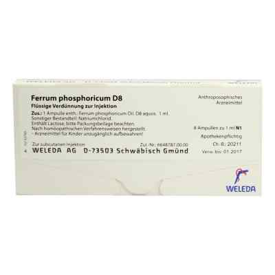 Ferrum Phosphoricum D8 Ampullen  bei apo-discounter.de bestellen