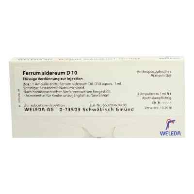 Ferrum Sidereum D10 Ampullen  bei apo-discounter.de bestellen