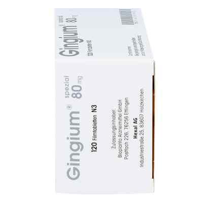 Gingium spezial 80mg  bei apo-discounter.de bestellen
