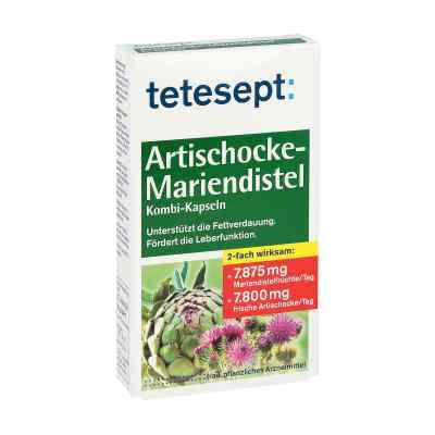 Tetesept Artischocke-Mariendistel Kombi-Kapseln  bei apo-discounter.de bestellen