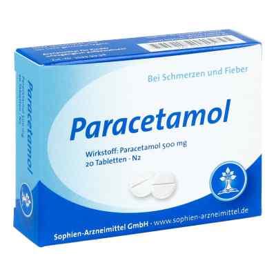 Paracetamol 500 Sophien  bei apo-discounter.de bestellen