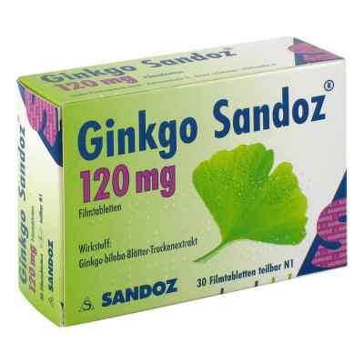 Ginkgo Sandoz 120mg  bei apo-discounter.de bestellen