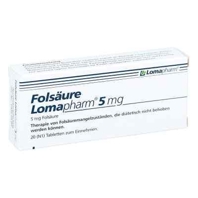 Folsäure Lomapharm 5 mg Tabletten  bei apo-discounter.de bestellen