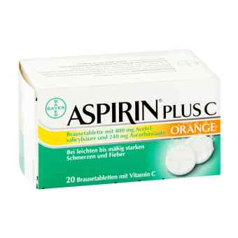 Aspirin plus C Orange Brausetabletten