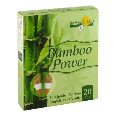 Bamboo Power Vitalpflaster 20 Stk Online Gunstig Kaufen