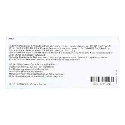 Ferrum Silicium Comp. Ampullen  bei apo-discounter.de bestellen