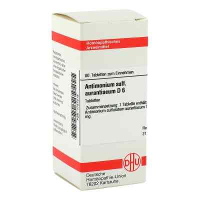Antimonium Sulf. Aurant. D6 Tabletten  bei apo-discounter.de bestellen