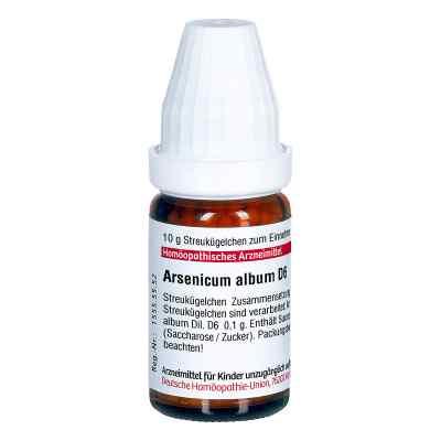 Arsenicum Album D 6 Globuli  bei apo-discounter.de bestellen