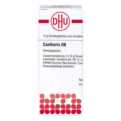 Cantharis D 6 Globuli  bei apo-discounter.de bestellen