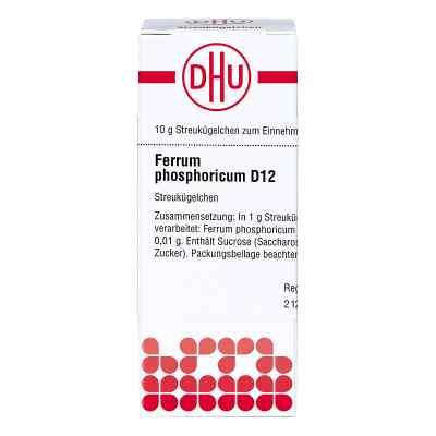 Ferrum Phosphoricum D12 Globuli  bei apo-discounter.de bestellen
