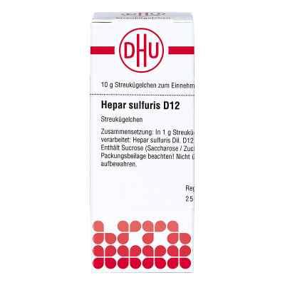 Hepar Sulfuris D12 Globuli  bei apo-discounter.de bestellen