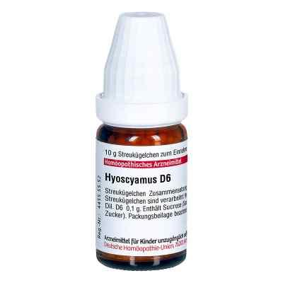 Hyoscyamus D 6 Globuli  bei apo-discounter.de bestellen