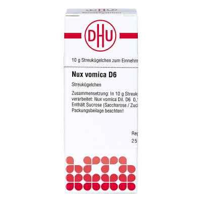 Nux Vomica D6 Globuli  bei apo-discounter.de bestellen