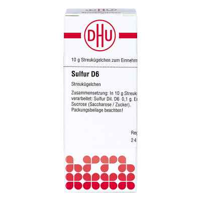Sulfur D 6 Globuli  bei apo-discounter.de bestellen