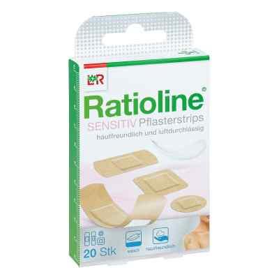 Ratioline sensitive Pflasterstrips in 4 Grössen  bei apo-discounter.de bestellen