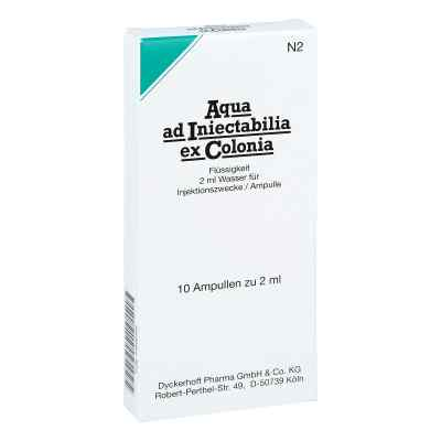 Aqua Ad Iniectabilia ex Colonia Ampullen  bei apo-discounter.de bestellen