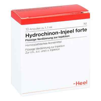 Hydrochinon Injeel forte Ampullen  bei apo-discounter.de bestellen