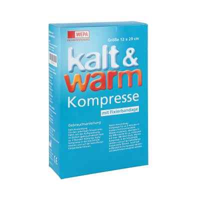 Kalt-warm Kompresse 12x29cm mit Fixierband  bei apo-discounter.de bestellen