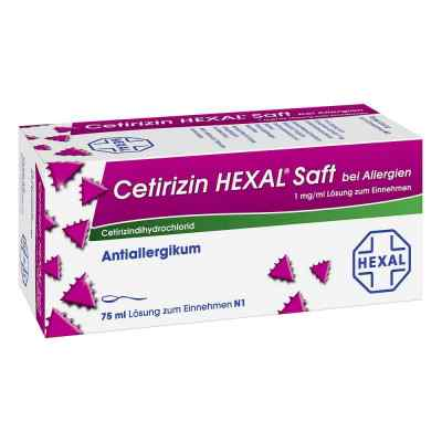 Cetirizin HEXAL bei Allergien 1mg/ml