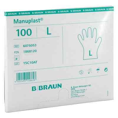 Manuplast Einmal Handschuhe gross, hell  bei apo-discounter.de bestellen