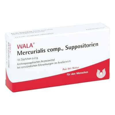 Mercurialis compositus Suppositorien