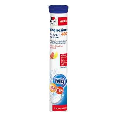 Doppelherz Magnesium 400+b Vitamine +fols. Brausetabletten   bei apo-discounter.de bestellen