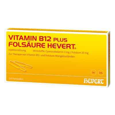 Vitamin B12 Folsäure Hevert Ampullen -paare  bei apo-discounter.de bestellen