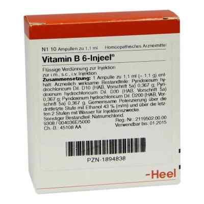 Vitamin B6 Injeel Ampullen  bei apo-discounter.de bestellen