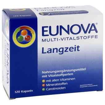 Eunova Multi Vitalstoffe Langzeit Kapseln