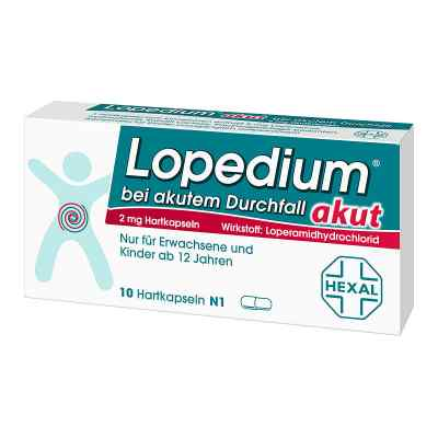 Lopedium akut bei akutem Durchfall  bei apo-discounter.de bestellen