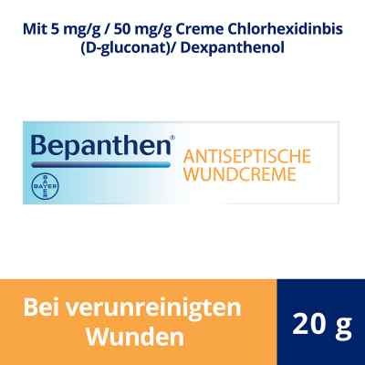 Bepanthen Antiseptische Wundcreme  bei apo-discounter.de bestellen