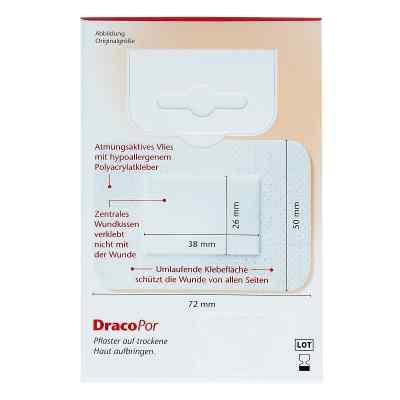 Dracopor Wundverband 7,2x5cm steril  bei apo-discounter.de bestellen