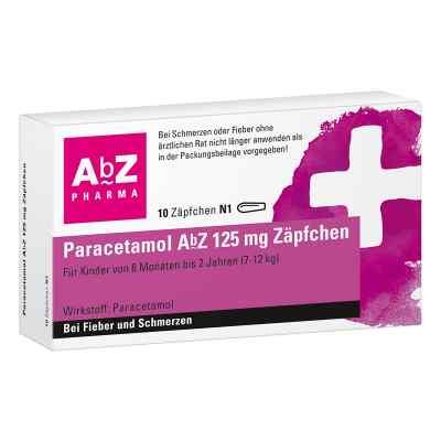 Paracetamol AbZ 125mg