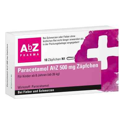 Paracetamol AbZ 500mg  bei apo-discounter.de bestellen