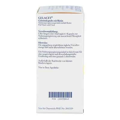Gelacet Gelatinekapseln mit Biotin  bei apo-discounter.de bestellen