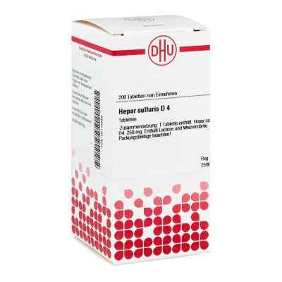 Hepar Sulfuris D4 Tabletten  bei apo-discounter.de bestellen